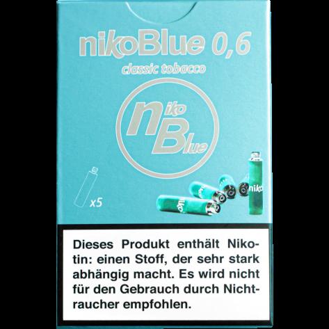 nikoBlue refill classic 0.6% Nikotin