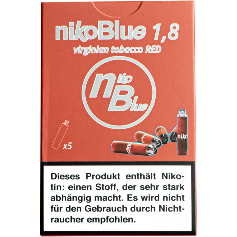 nikoBlue red 1.8% Nictotine
