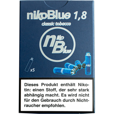 nikoBlue refill classic 1.8% Nicotine