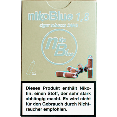 nikoBlue refill sand 1.8% Nicotine