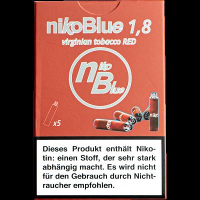 nikoBlue red 1.8% Nictotine